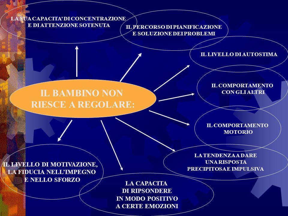 IL BAMBINO NON RIESCE A REGOLARE: LA SUA CAPACITA DI CONCENTRAZIONE E DI ATTENZIONE SOTENUTA IL PERCORSO DI PIANIFICAZIONE E SOLUZIONE DEI PROBLEMI IL