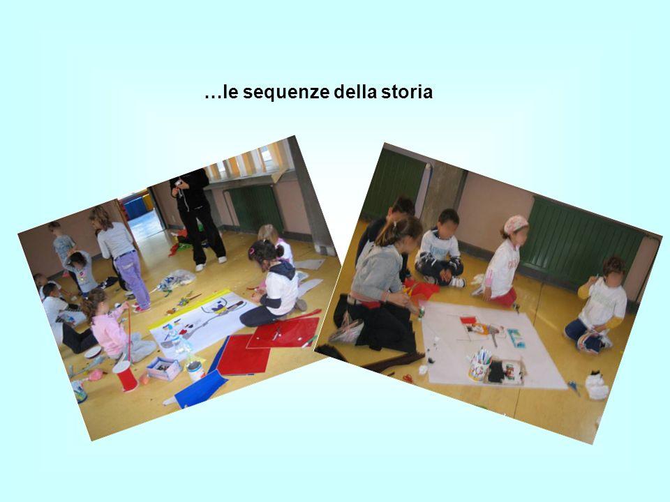A gruppi prepariamo, con tecniche e materiali diversi…