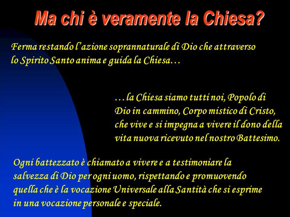 La grande novità del Concilio Vaticano II A dire il vero non si tratta di una novità vera e propria Attraverso la Chiesa, sacramento di Cristo per gli