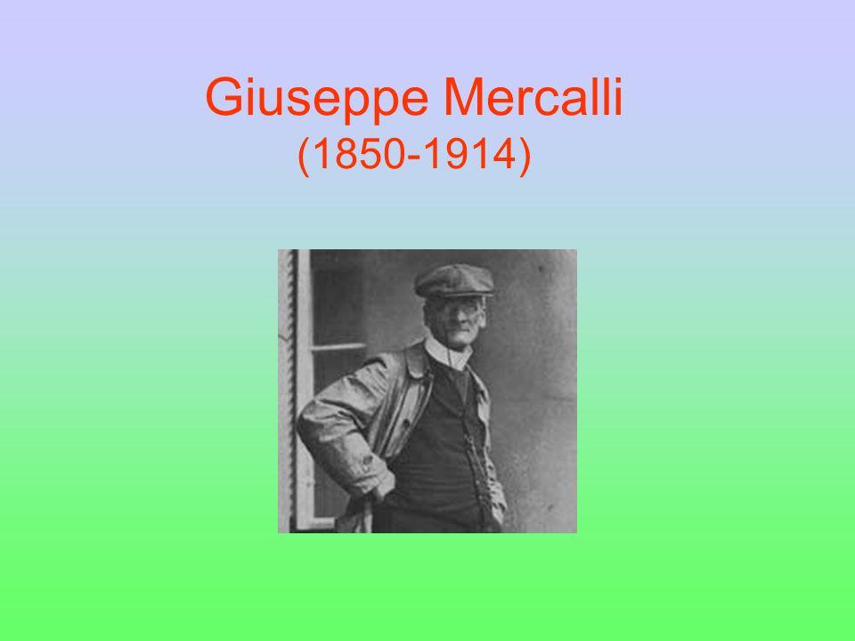 La scala Mercalli Cosè la scala Mercalli?