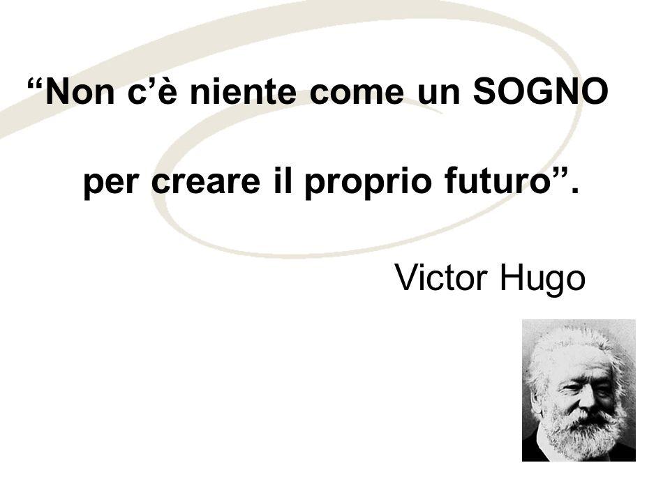 Non cè niente come un SOGNO per creare il proprio futuro. Victor Hugo