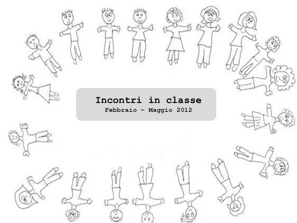 Incontro di restituzione verifica e confronto del percorso svolto con le insegnanti di classe Incontro di restituzione con i genitori Maggio 2012