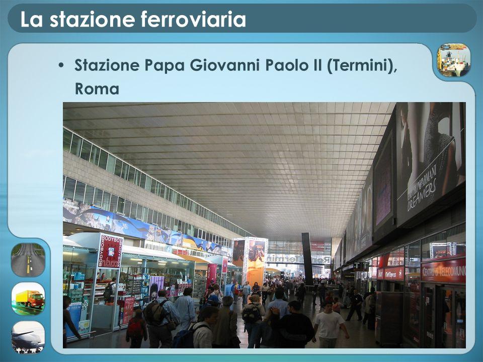 La stazione ferroviaria Stazione Papa Giovanni Paolo II (Termini), Roma