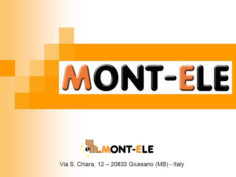 Via S. Chiara, 12 – 20833 Giussano (MB) - Italy