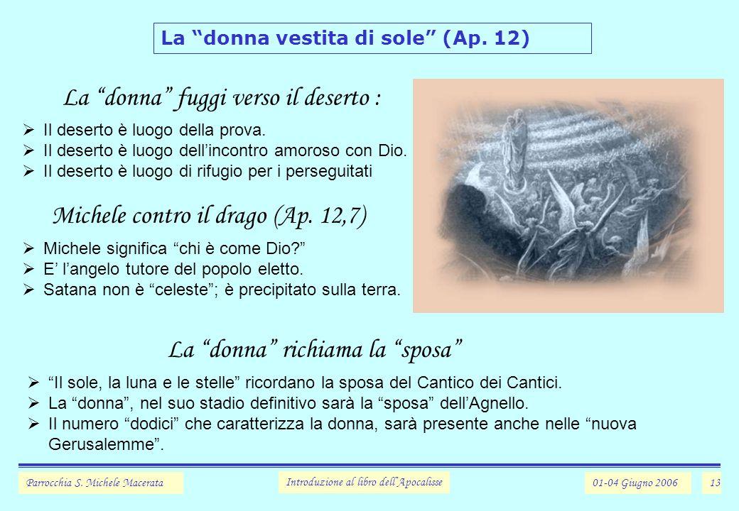 13 La donna vestita di sole (Ap.12) Parrocchia S.