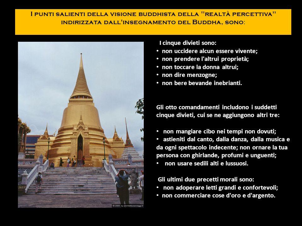 I punti salienti della visione buddhista della