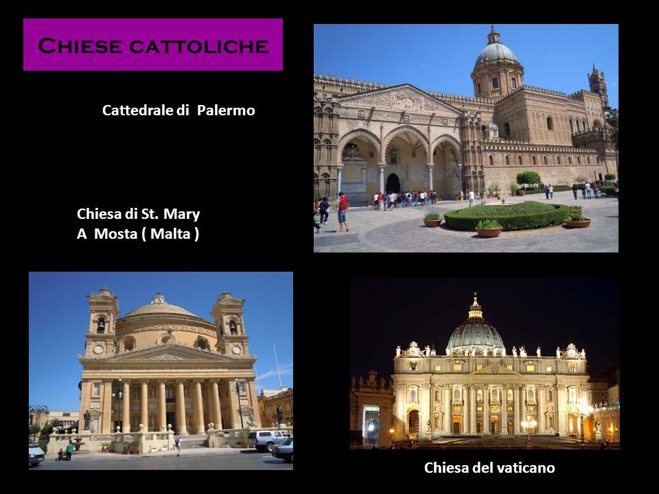 Chiese cattoliche Cattedrale di Palermo Chiesa del vaticano Chiesa di St. Mary A Mosta ( Malta )