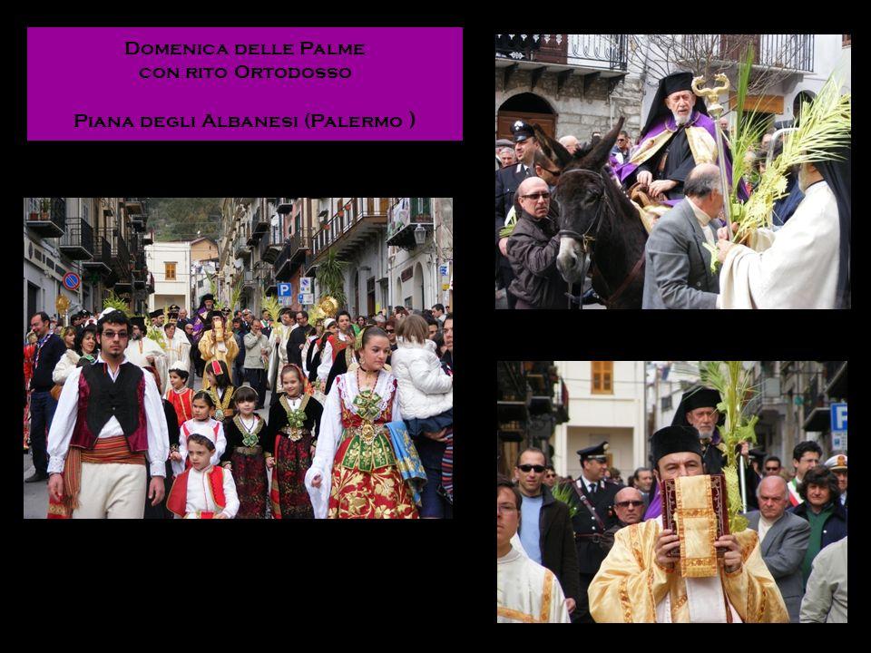 Domenica delle Palme con rito Ortodosso Piana degli Albanesi (Palermo )