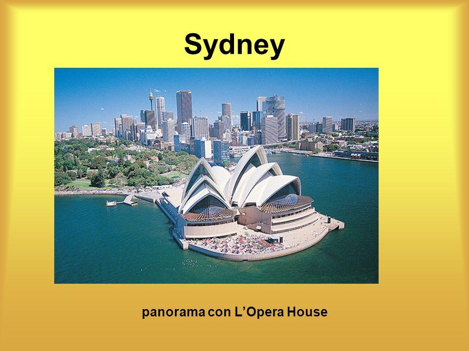 Sydney panorama con LOpera House