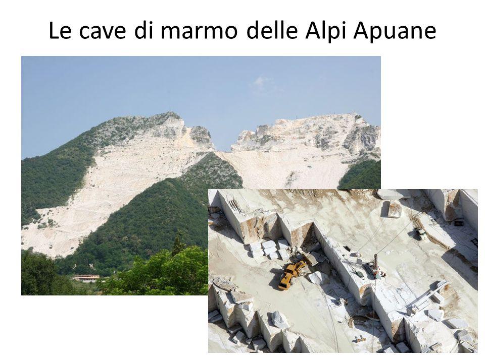 Le cave di marmo delle Alpi Apuane