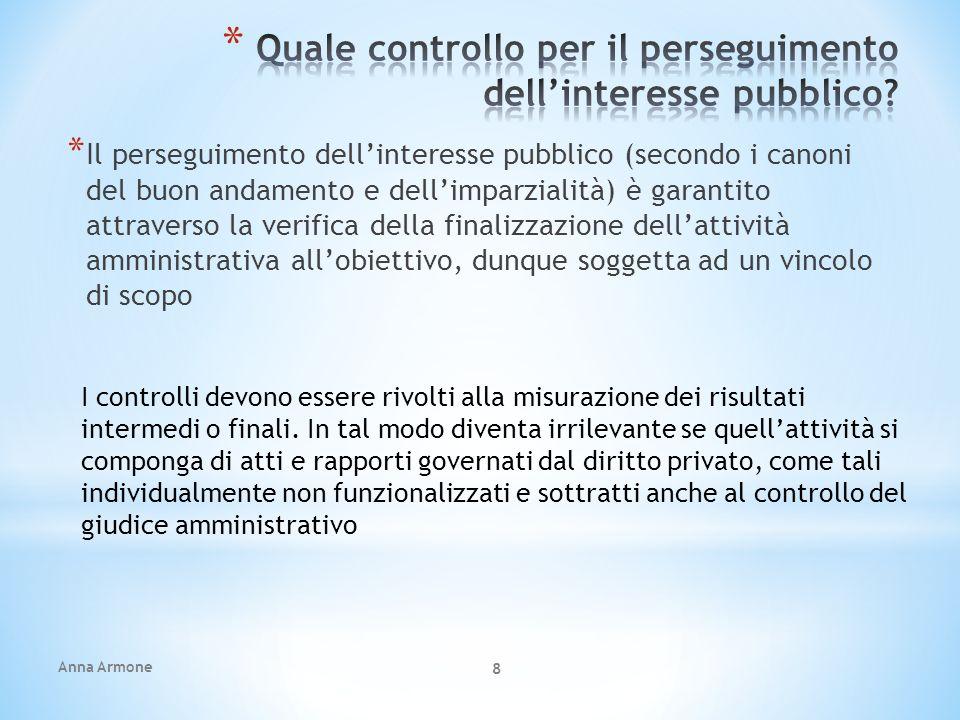 Anna Armone 19 * L lestensione dei nuovo poteri dirigenziali al dirigente scolastico, in particolare, è automatica.