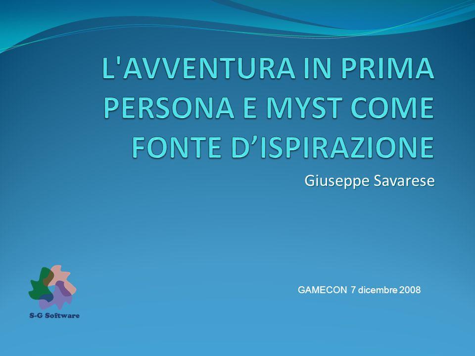 Giuseppe Savarese GAMECON 7 dicembre 2008