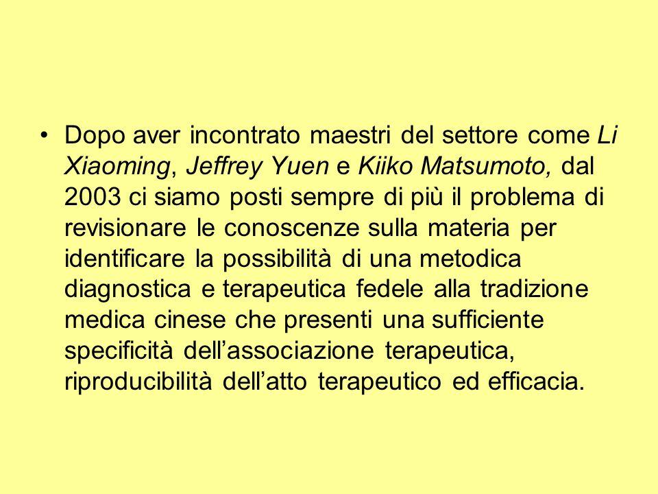 Dopo aver incontrato maestri del settore come Li Xiaoming, Jeffrey Yuen e Kiiko Matsumoto, dal 2003 ci siamo posti sempre di più il problema di revisi