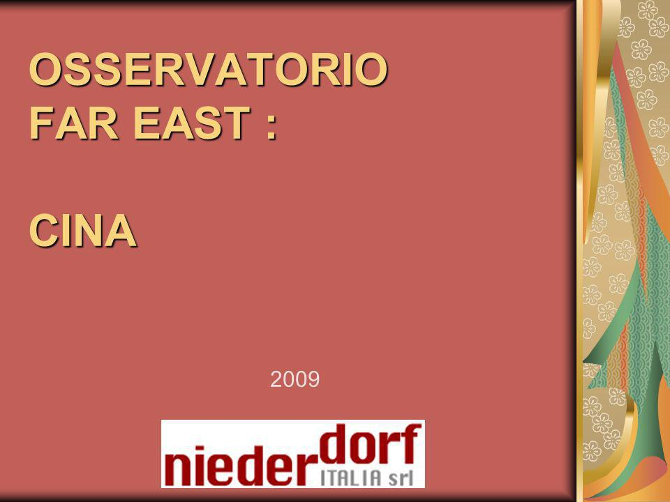 OSSERVATORIO FAR EAST : CINA 2009