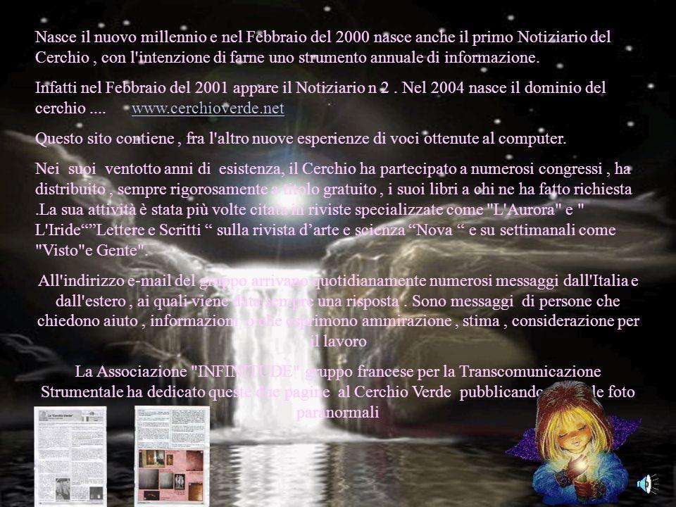 www.cerchioverde.net E' facile perdere la propria identità nella giungla del paranormale, ma non lasciamoci prendere la mano. Io non grido al miracolo