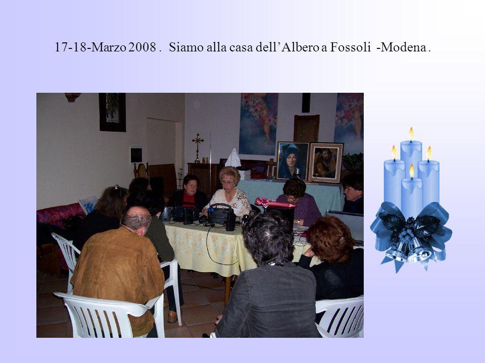 Qui siamo a Milano dove molte persone ci aspettavano per sapere della metafonia, organizzato dalla mamma di Denis.