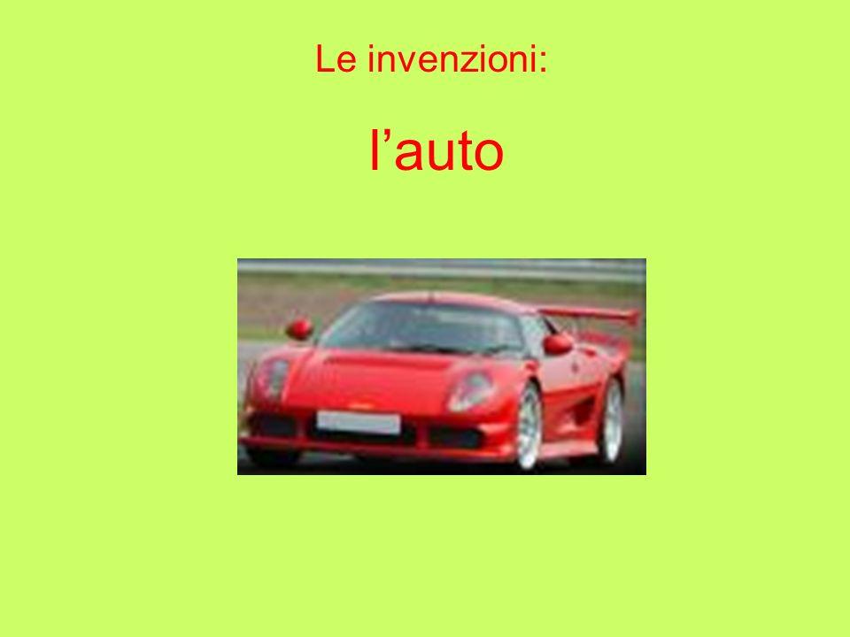 Le invenzioni: lauto