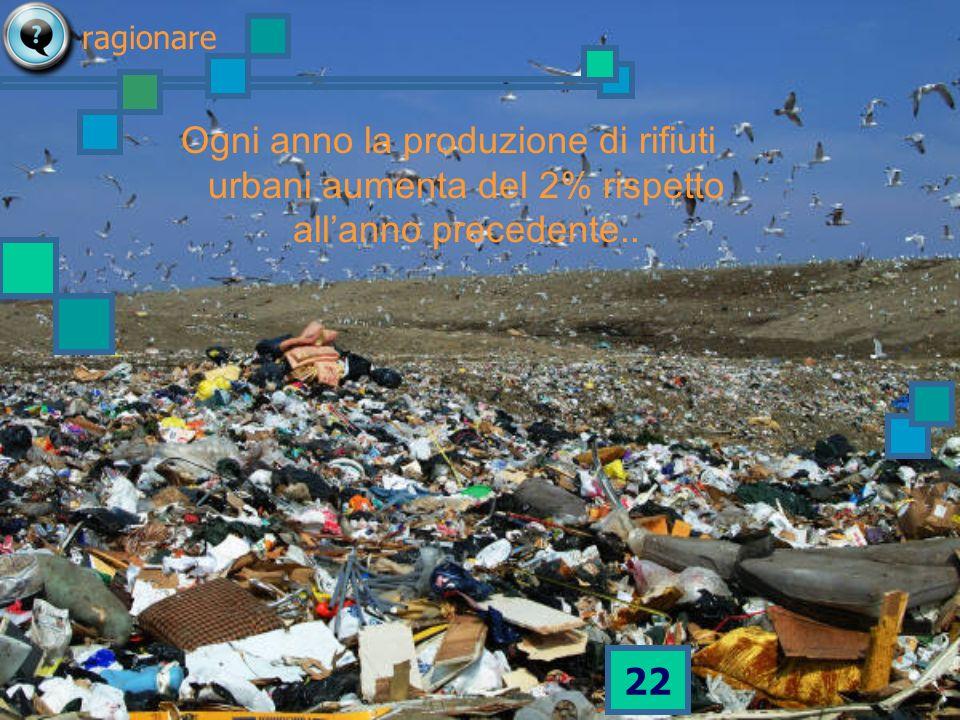 21 perché in Italia si dice tanti rifiuti e nessuno dice mai troppi rifiuti ragionare