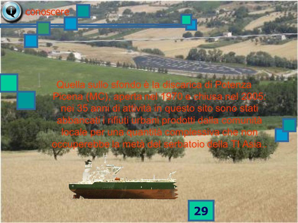 28 ITALIA 38 navi come la TI Asia piene di rifiuti urbani indifferenziati ogni anno vanno in DISCARICA ragionare 12 su 33 navi del NORD in discarica 10 su 16 navi del CENTRO in discarica 16 su 23 navi del SUD in discarica