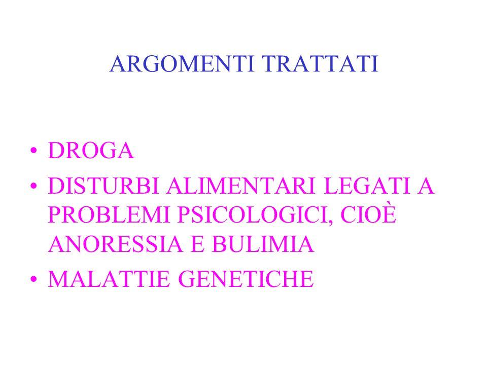 La salute in Europa Scuola secondaria di 1° grado Pirandello anno scolastico 2005/2006 enti partner CEDRAS e Lega Italiana per la lotta contro i tumor