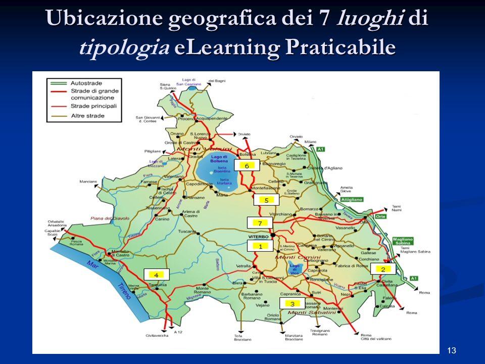 12 Livello istruzione docenti luoghi ad eLearning Praticabile Tabella 2