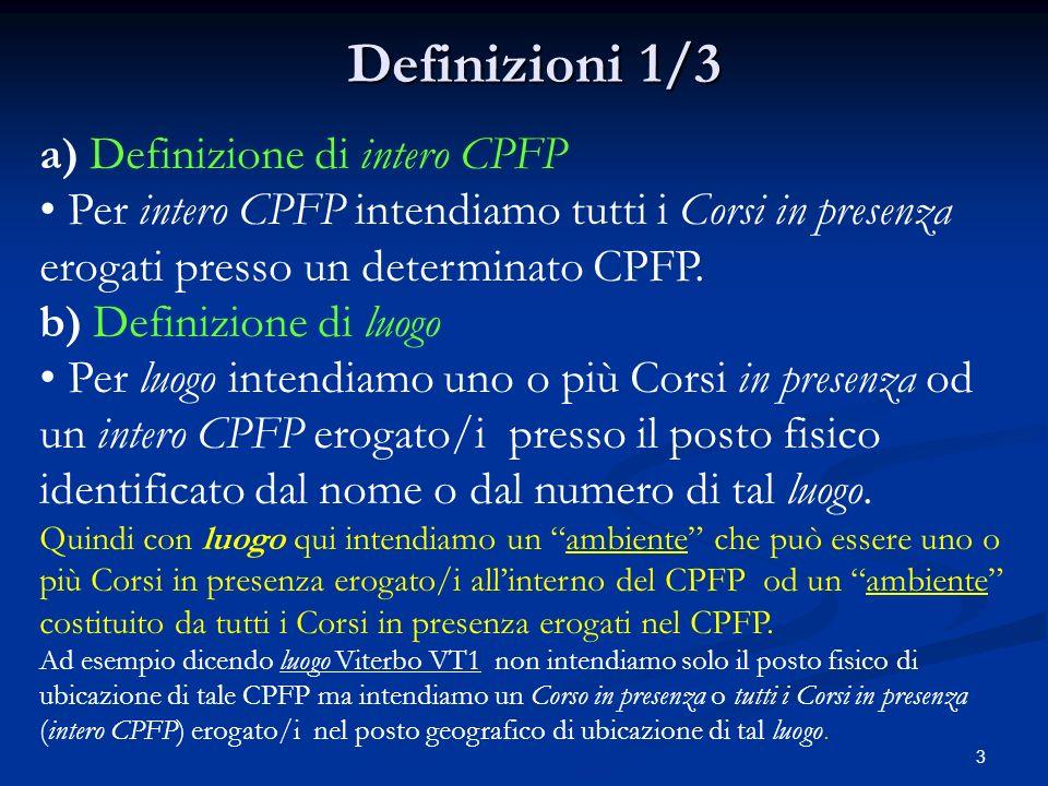 2 Fabbisogni FaD nel Settore Formazione Professionale della Provincia di Viterbo I tre Bisogni Formativi del Settore F.