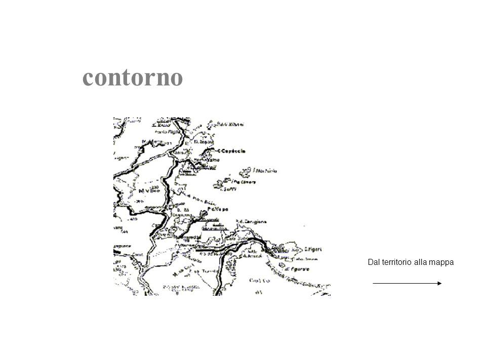 contorno Dal territorio alla mappa