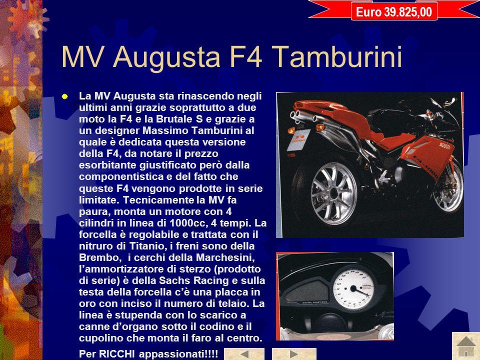 Ducati 999R E la replica della moto che lano scorso si piazzò al primo e al secondo posto nel mondiale Superbike, unico baluardo italiano (prima dellu