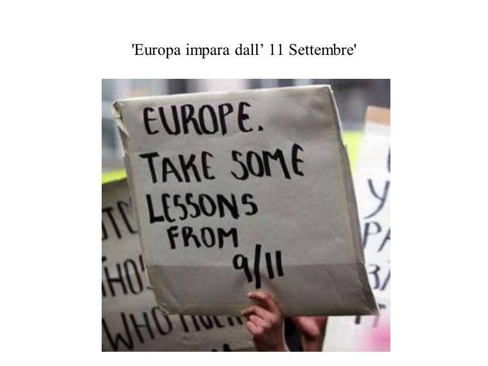 Europa impara dall 11 Settembre