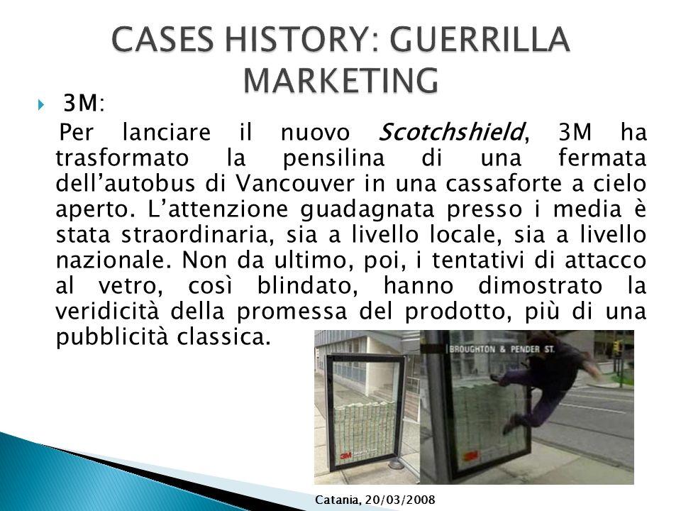 3M: Per lanciare il nuovo Scotchshield, 3M ha trasformato la pensilina di una fermata dellautobus di Vancouver in una cassaforte a cielo aperto. Latte