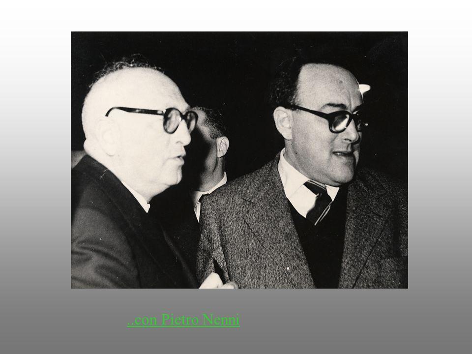 ..con Pietro Nenni