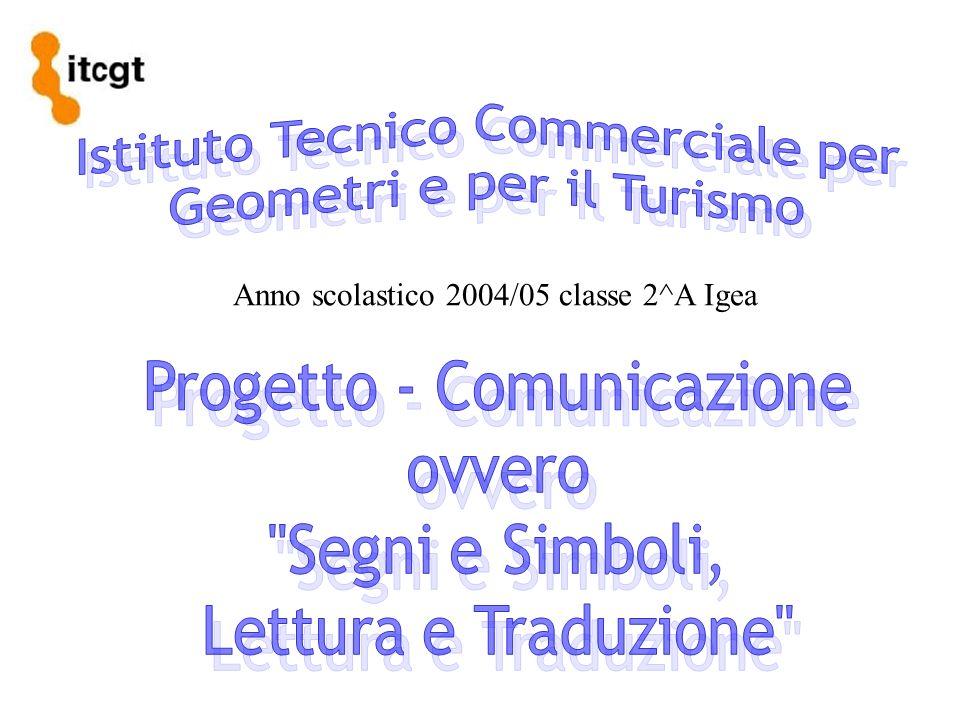 Anno scolastico 2004/05 classe 2^A Igea