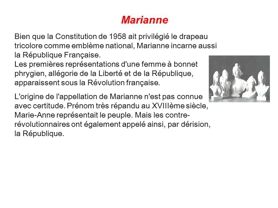 La Marseillaise est interdite sous l'Empire (1804 - 1815) et la Restauration (1815 - 1813). Elle est alors perçue par les gouvernants comme un symbole