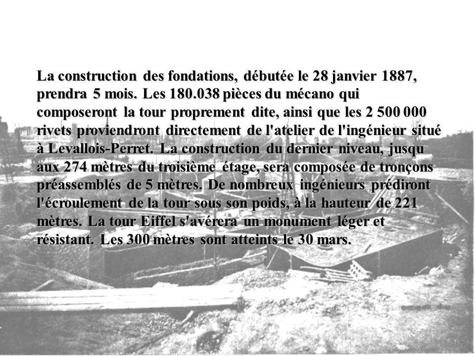 Maurice Koechlin et Emile Nouguier, ingénieurs et collaborateurs d'Eiffel, concevront secrètement le premier projet d'un pylône métallique haut de tro