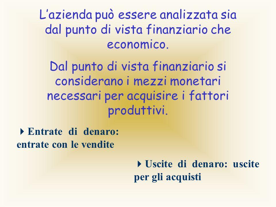 Lazienda è un istituto economico destinato a perdurare nel tempo. Gli elementi dellazienda sono le persone, i beni e le operazioni.