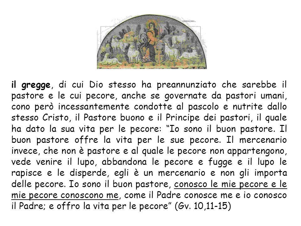lovile, la cui porta unica necessaria è Cristo: In verità, in verità vi dico: chi non entra nel recinto delle pecore per la porta, ma vi sale da un al