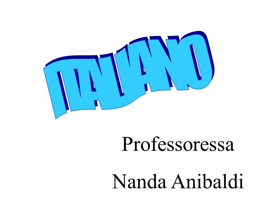 Professoressa Nanda Anibaldi
