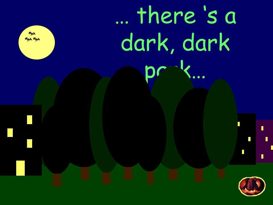 … theres a dark, dark house…