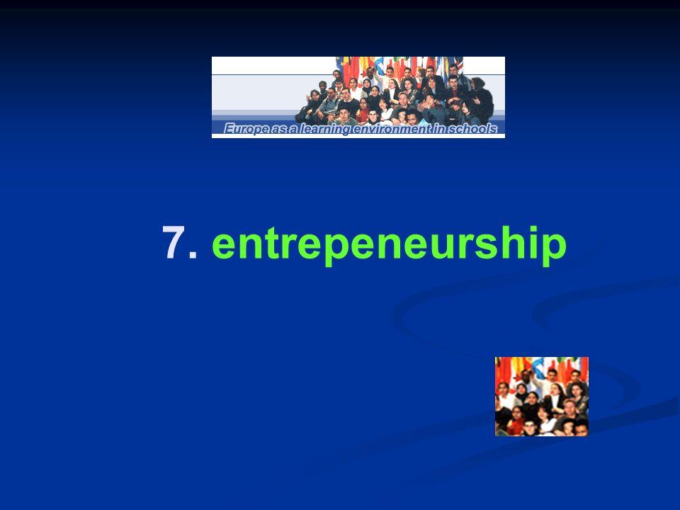 7. entrepeneurship