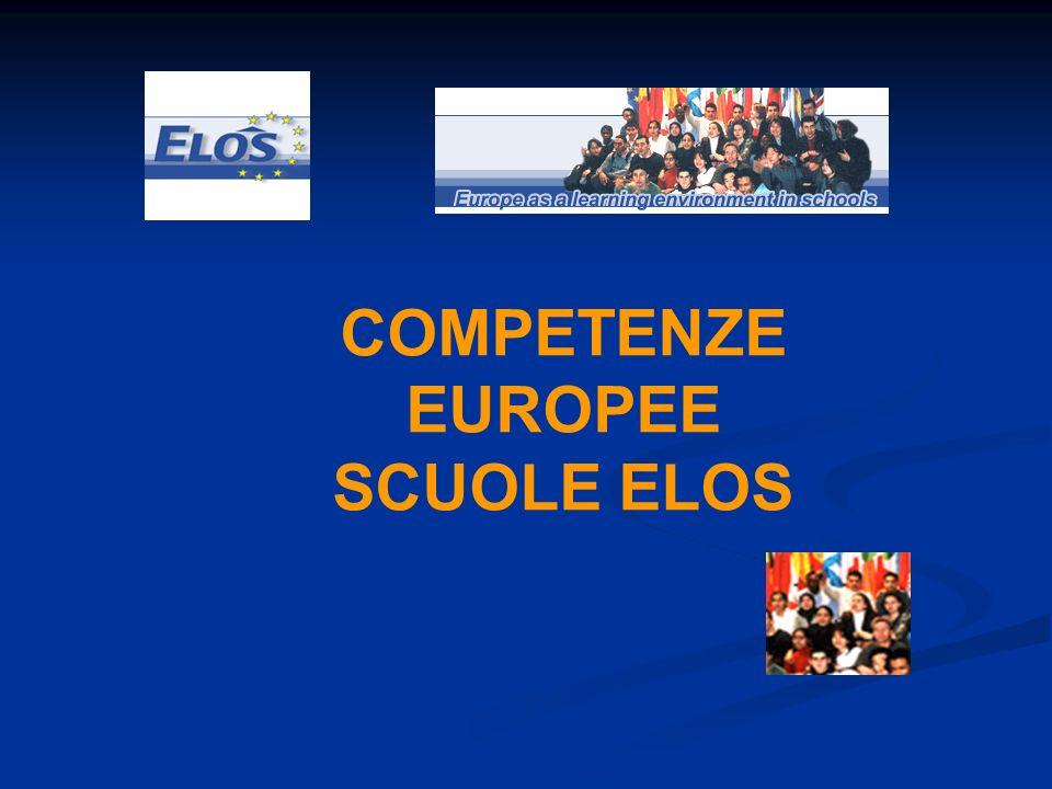 COMPETENZE EUROPEE SCUOLE ELOS