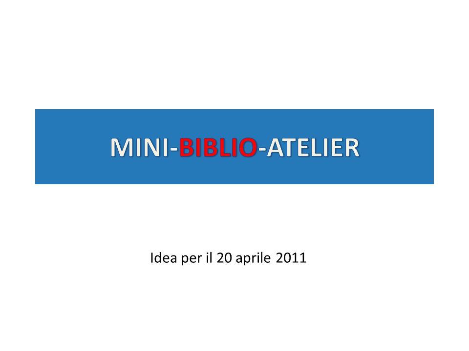 Idea per il 20 aprile 2011