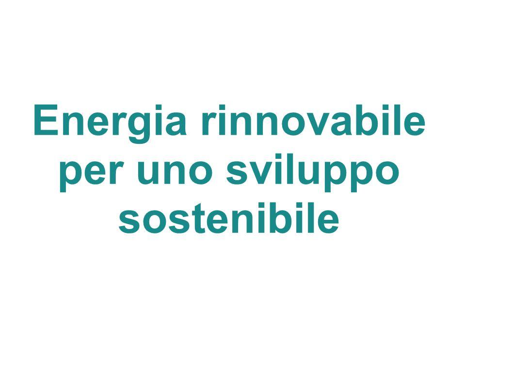 Sviluppo sostenibile Nel 1972 con il Rapporto del club di Roma si si introduce il concetto di sviluppo sostenibile.