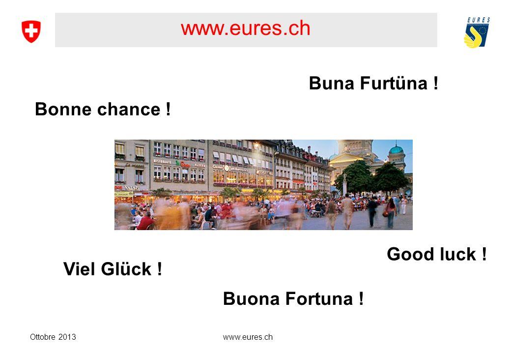 www.eures.ch Ottobre 2013