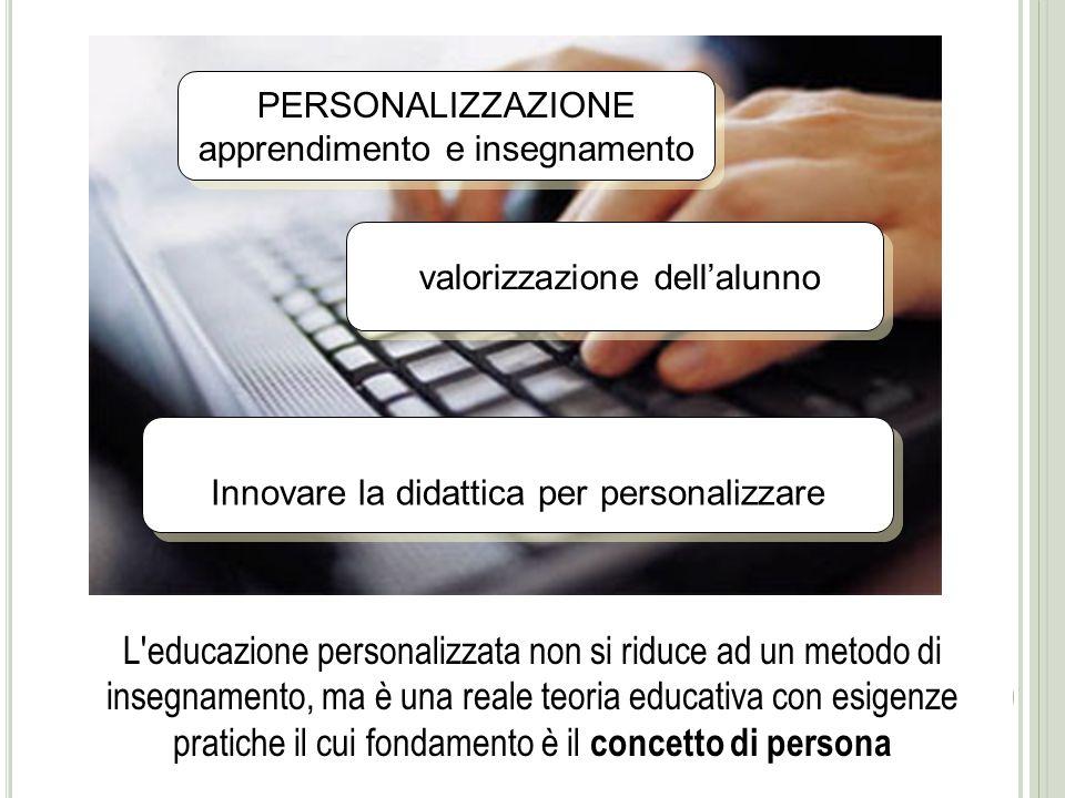 Quali Motodologie per una didattica della persona Alessandra La Marca Università di Palermo