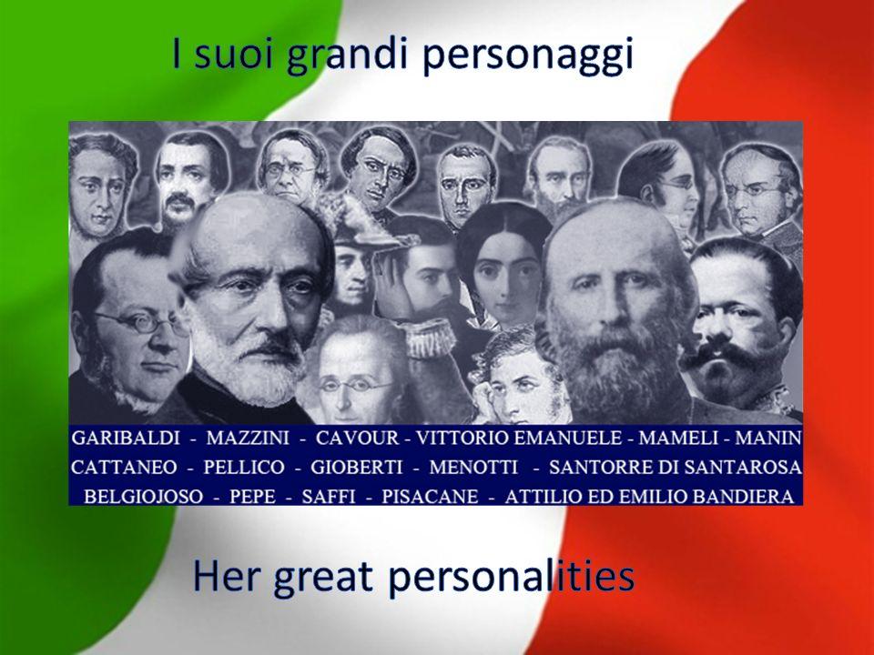 LItalia è stata unita nellanno 1861 LItalia has been united in year 1861 Prima/first Dopo/after