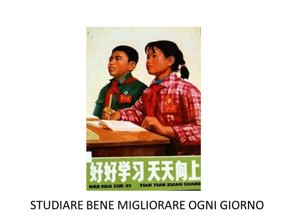 STUDIARE BENE MIGLIORARE OGNI GIORNO
