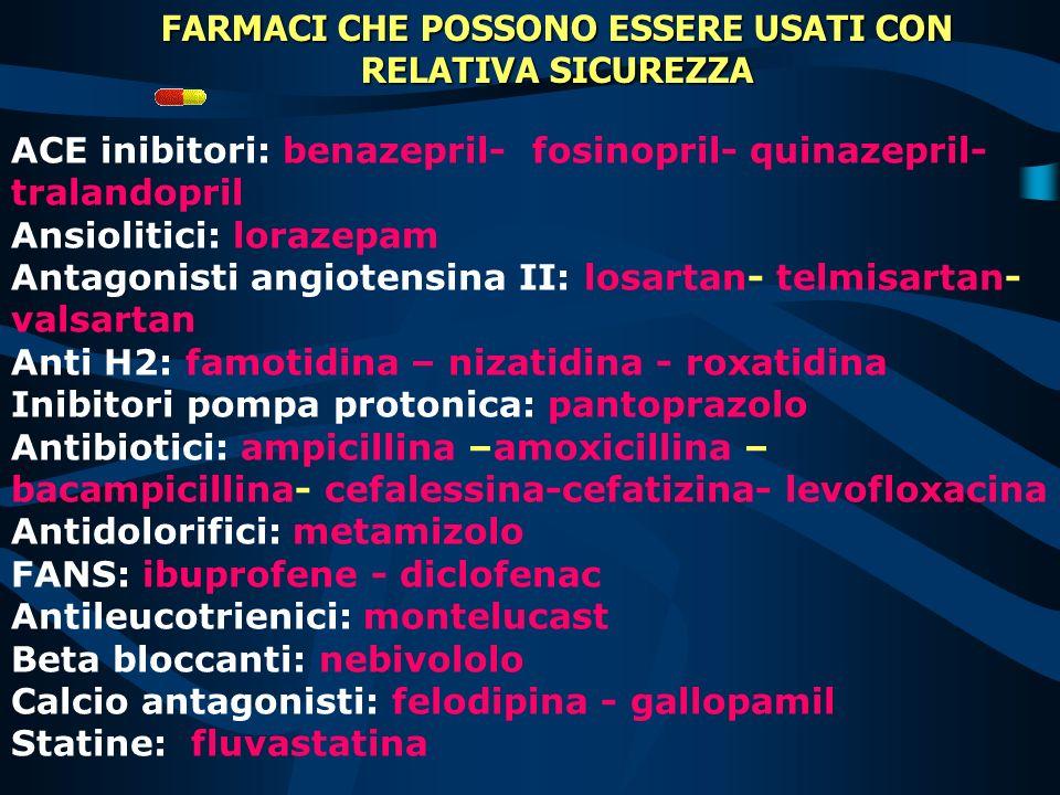 EFFETTO ALTAMENTE PROBABILE barbiturici - carbamazepina - clordiazepossido colestiraminarifampicinagriseofulvinanafcillinasucralfato EFFETTO PROBABILE
