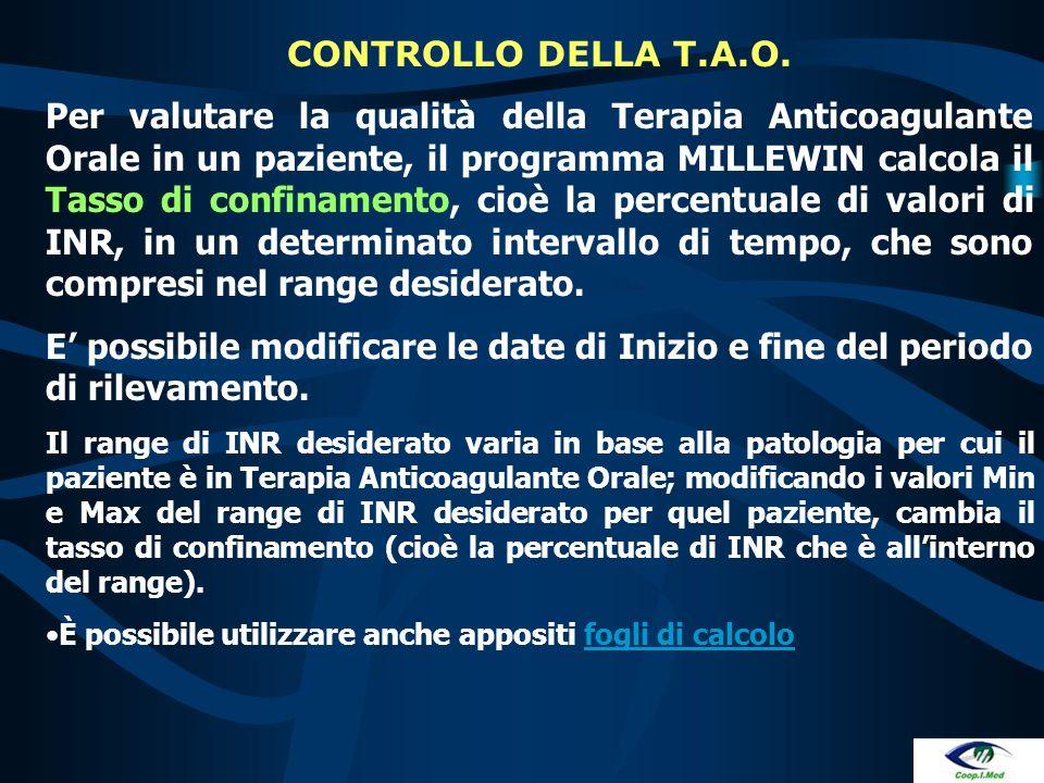 In caso di importante emorragia gastroenterica o renale in presenza di INR <= 3 si deve sospettare e ricercare una concomitante patologia neoplastica