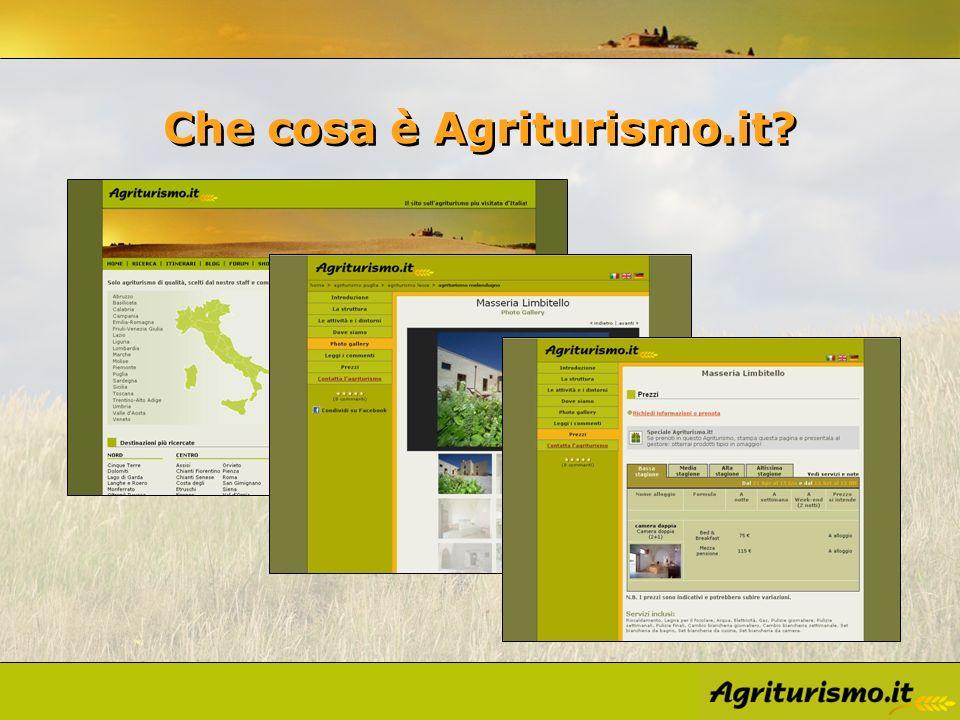 Che cosa è Agriturismo.it?