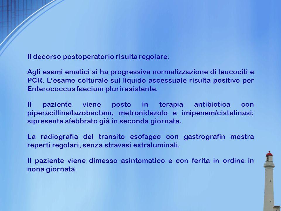 Ascesso Cervico-Mediastinico da Perforazione Esofagea M Monza°, J Behon Tolly°, P Medri°, R Ruiz Luna°, L Bonifati*, A Mainini*, N Scoppetta° ° S.C.
